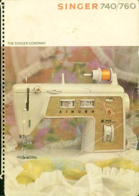 Singer 740 Sewing Machine Manual Examples Include Selecting Corre Sewing Machine Instruction Manuals Sewing Machine Instructions Sewing Machine Manuals