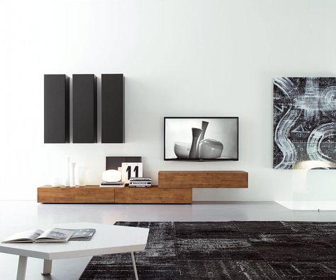 Schön The 25+ Best Moderne Wohnwände Ideas On Pinterest   Moderne TV Möbel, Kamin  Bildschirme And Tv Wohnwand