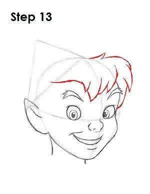 How To Draw Peter Pan Dessins Disney Dessin Disney
