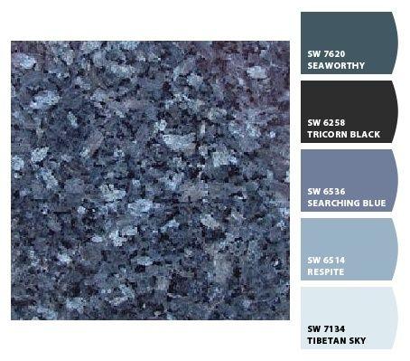 Another View Of Blue Pearl Granite Blue Pearl Granite Blue Granite Countertops Replacing Kitchen Countertops
