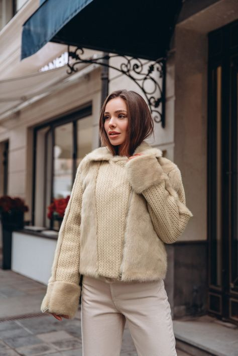 Куртка с мехом Lentini 4 купить за 29 600 руб.₽ в магазине Modde / Парки / Collection 2019