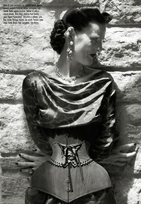 Stella Tennant   Steven Meisel   Vogue Italia October, 2011   The Discipline ofFashion - 3 Sensual Fashion Editorials   Art Exhibits - Anne of Carversville Women's News