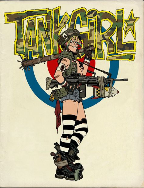 TankGirlcolor1 by angryrooster on DeviantArt