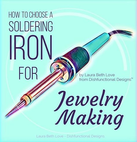 How To Choose A Soldering Iron For Jewelry Making Dishfunctional Designs: How T. - How To Choose A Soldering Iron For Jewelry Making Dishfunctional Designs: How To Choose A Solderin - Soldering Jewelry, Soldering Iron, Diy Jewelry Findings, Wire Jewelry, Jewelry Crafts, Beaded Jewelry, Wire Earrings, Handmade Jewelry, Silverware Jewelry