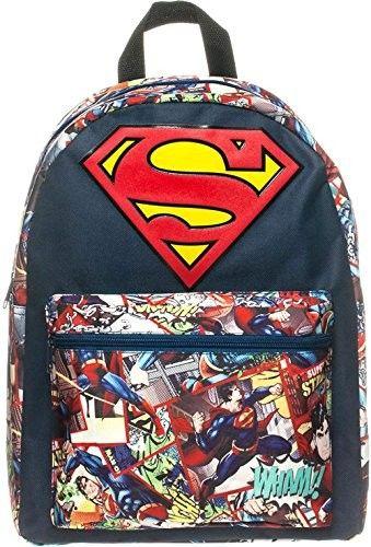 Superman Baby-Body mittelblau von Logoshirt