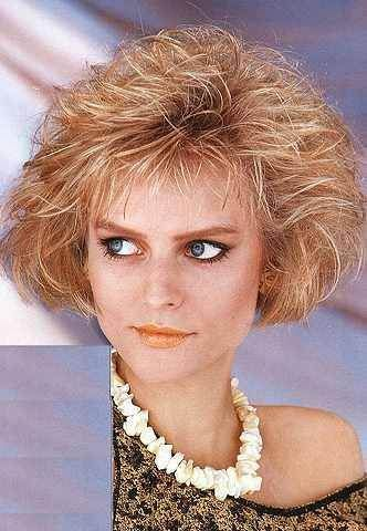 80s Bob Hairstyle Hairstyles 80s Short Hair Permed Hairstyles
