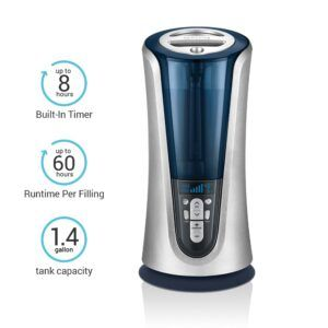 Homedics Humidifier Warm And Cool Mist Best For Winter Summer Wellness Design Humidifier Air Humidifier