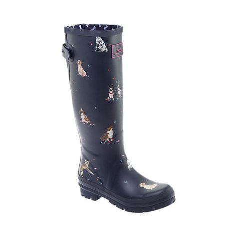 Back Adjustable Rain Boots | Wellies