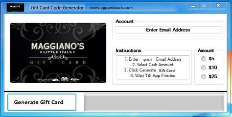 Victoria's Secret Gift Card Generator | Gift Cards | Pinterest ...