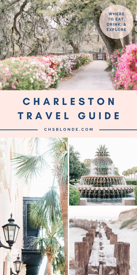 Read my ultimate Charleston travel guide, packed full with my top things to do, places to stay, and where to eat in the Holy City! South Carolina Vacation, Charleston South Carolina, Charleston Sc, Folly Beach South Carolina, Oh The Places You'll Go, Places To Travel, East Coast Road Trip, Southern Charm, Southern Homes