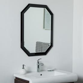 Silver Octagonal Frameless Bathroom