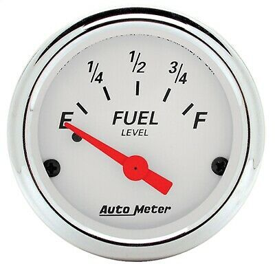 Sponsored Ebay 1315 Autometer 1315 Arctic White Fuel Level Gauge In 2020 Gauges Oil Pressure Metering