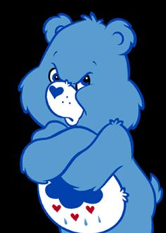 mad bear Care Bear Grumpy bear