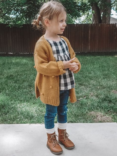 Toddler Girl Fall Fashion Must Haves Toddler Fashion Fall Fashion girl Haves Toddler Toddler Girl Fall, Toddler Girl Style, Toddler Girl Outfits, Toddler Fashion, Outfits Niños, Girls Fall Outfits, Little Girl Outfits, Cute Kids Outfits, Girls Fall Dresses