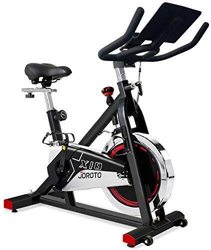 Best Seller Maxkare Magnetic Exercise Bike Stationary Bike Belt Drive Indoor Cycling Bike Gym Level High Weight Capacity Adjustable Magnetic Resistance W Tablet Holder Lcd Monitor Gray Online Magnetic Exercise Bike