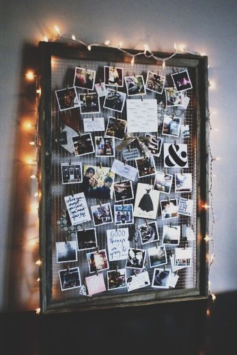 diy inspiration mood board photo displays diy dorm decor dorm rh pinterest com