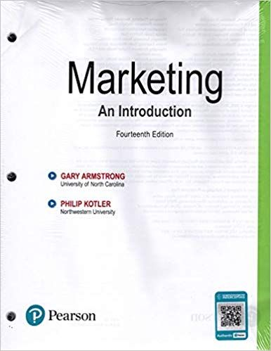 Marketing An Introduction 14th Edition Gary Armstrong Philip Kotler Solutions Marketing An Introduction Free Textbook Introduction