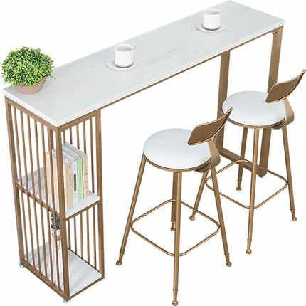 Nordic Marmo Tavolo Da Bar Per Uso Domestico Da Cucina Semplice Partizione Soggiorno Bar Tavolo Di Alta Piede Tavolo E Sedia Combinazione Di Vino Cabi Al In 2020 Living