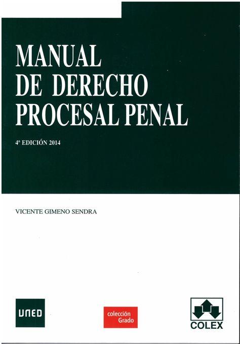 Manual de derecho procesal penal – libroley.