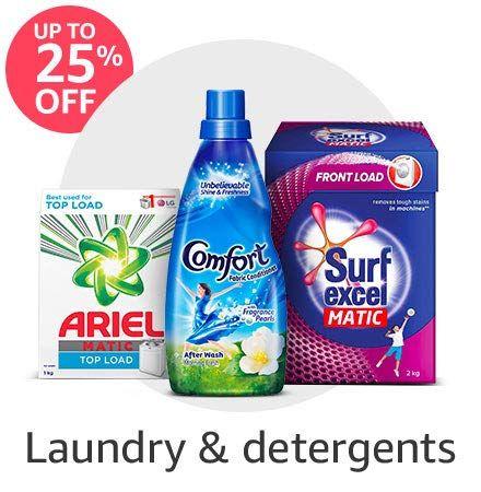 Daily Essentials Powder Detergent Detergents Easy Wash