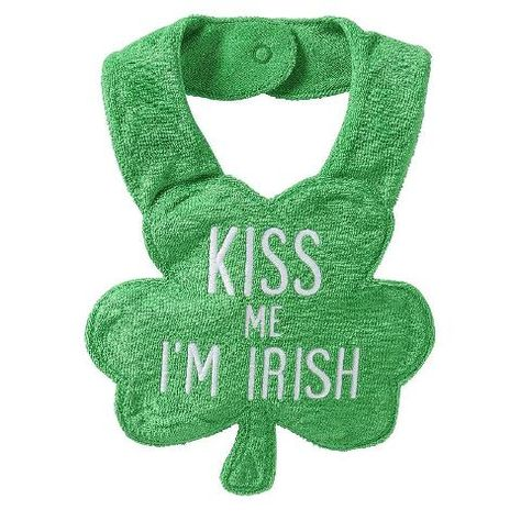 9b6fa77bc St. Patrick's Day Bib (Baby)