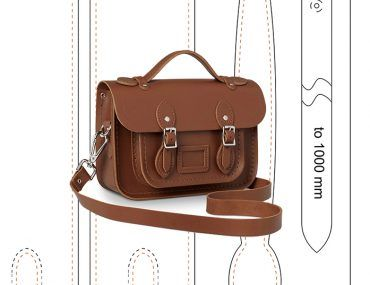 Leather Messenger Bag Pattern Cambridge Satchel Pattern