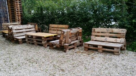 Sitzmöbel aus Paletten | Möbel | Pinterest