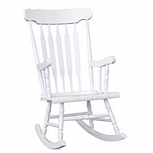I M Totally Torn As To Whether I Should Paint The Rocking Chair I Bought On Craig S List White Or Pink White Rocking Chairs Rocking Chair Nursery Rocking Chair