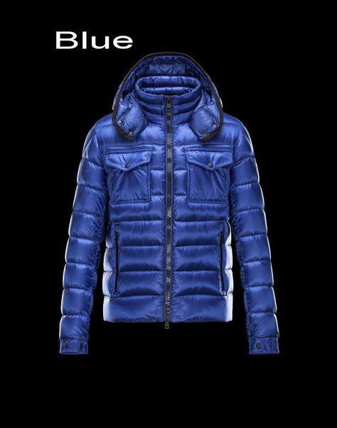 817ad5e5506 Moncler Edward Men Doudoune Legere Detachable Hood Jacket Outlet Blue