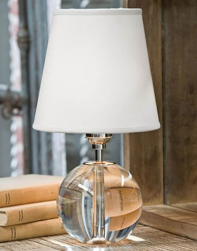 Crystal Orb Mini Sphere Table Lamp For Sale Crystal Table Lamps Mini Table Lamps Sphere Lamp