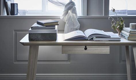 Karlstad Skrivbord Vit 2395 kr Trendrum.se