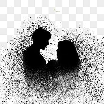 Couple Showing Affection At Night Under S Transparent Background Illustration Modern Artwork Png Transparent Clipart Image And Psd File For Free Download Di 2021 Latar Belakang Kota Fantasi Ilustrasi