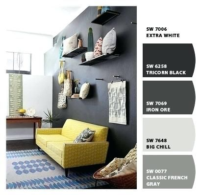 Extra White To Pair With Tricorn Black And Iron Ore Master Bedroom Colors Iron Ore Sherwin Williams Argos Sherwin Williams