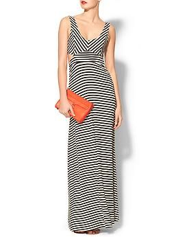 Ark & Co. Stripe Cut Out Maxi | Piperlime