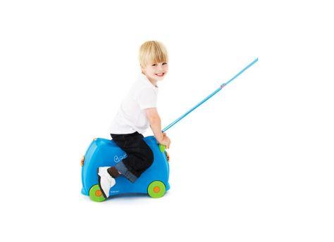 Kinder Trolley Terrance Trunki blau-Kinderkoffer Rucksäcke