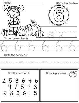 Numbers 1 20 Number Words Sight Word Sentences Word Sentences