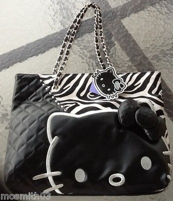 Hello Kitty Zebra Tote  )   Hello Kitty   Pinterest   Hello kitty ... e2df94c17c