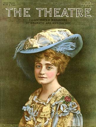 Ok- this is a great picture, but what struck me about it.... it looks like a female daniel radcliffe... any one else see that???  Theatre 1906-10