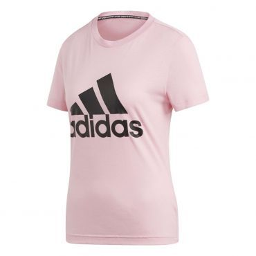 adidas Must Haves Badge Of Sport shirt dames true pink ...