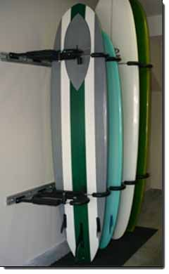 Locking Surfboard Racks For Hotels, Apartments, Condos And The Home U2013  Gatekeeper | Beach