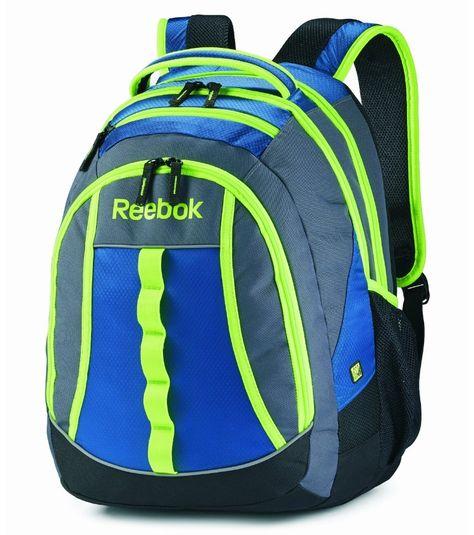 85a7065242 Reebok Blue Green Backpack