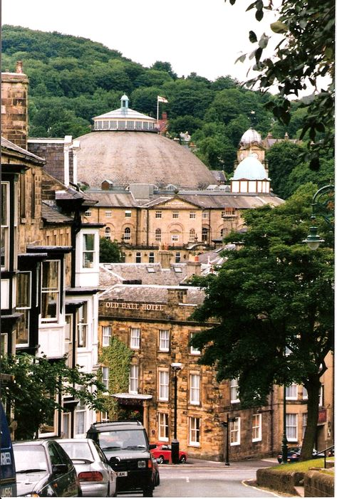 A View Down One Of The Streets From The Market Square Sloping Down To The Town Hall Area The Big Domed Buildi British Mystery Series Domed Building Sleep Book
