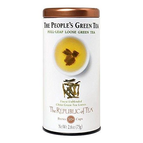 The Republic of Tea Full-Leaf Loose Green Tea - The People's Green / 2.6 Ounce