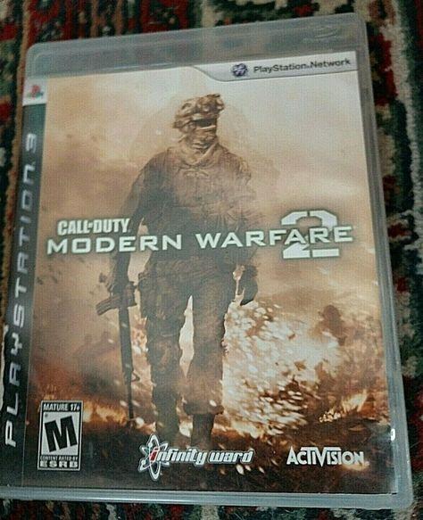 Call of Duty: Modern Warfare 2 (Sony PlayStation 3, 2009
