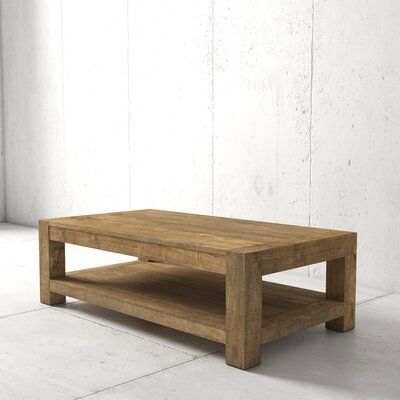 Loon Peak Duran Coffee Table Coffee Table Table Coffee Table Wood