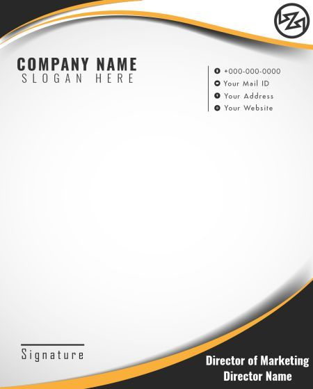 Builder S Letterhead Template 7 Professional Looking Free Templates For Your Construction Business Letterhead Template Company Letterhead Template Letterhead