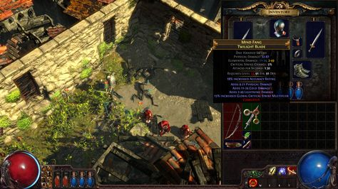 First Screenshots Of Path Of Exile Sacrifice Of The Vaal