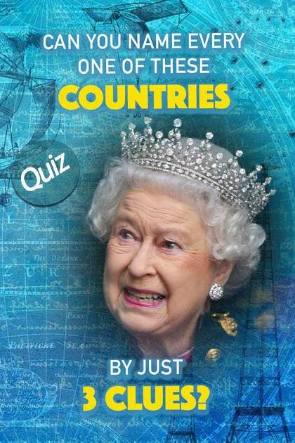 Quiz Can You Name Every One Of These Countries By Just 3 Clues Quiz Knowledge Quiz Interesting Quizzes