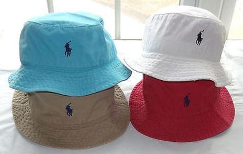 NWT New Polo Ralph Lauren Bucket Beach Golf Fishing Hat