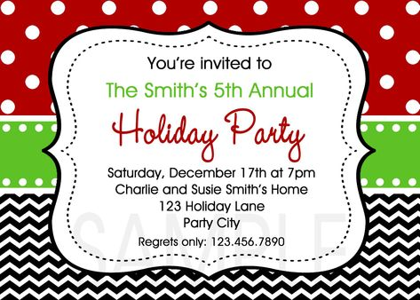 Christmas Party Invitation Templates Free Word Templates
